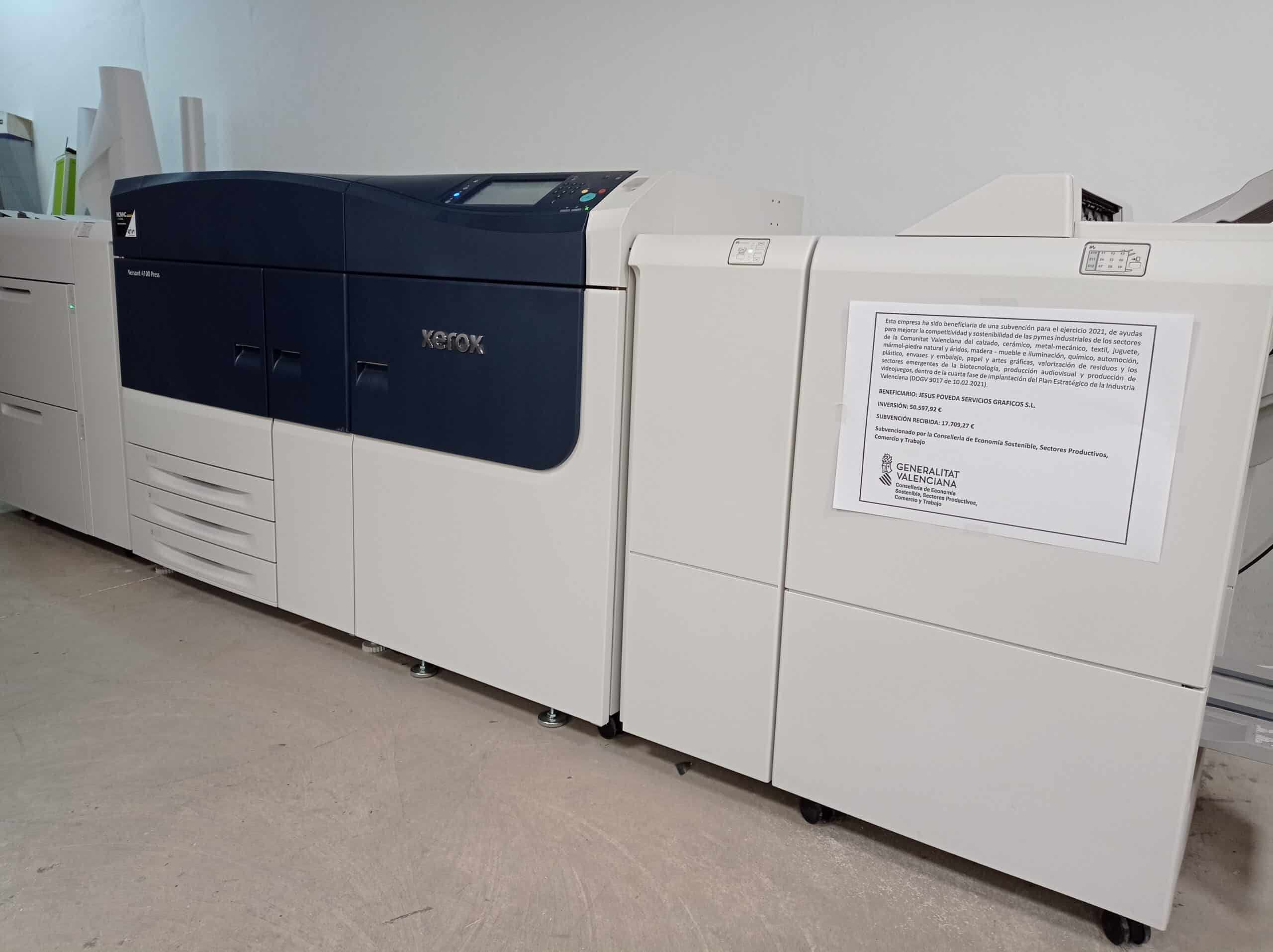 Prensa Xerox